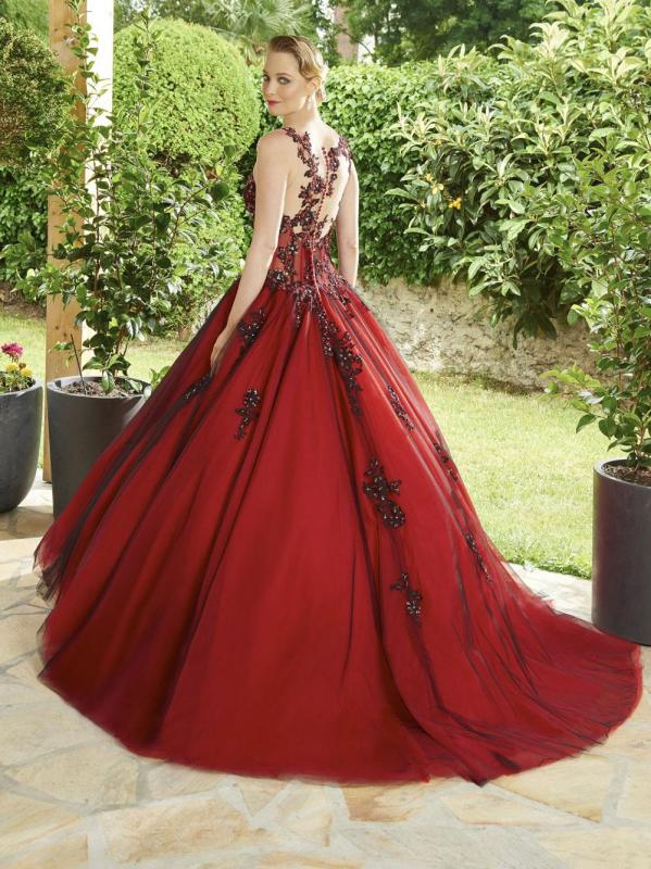 Robe annie couture perouse dos